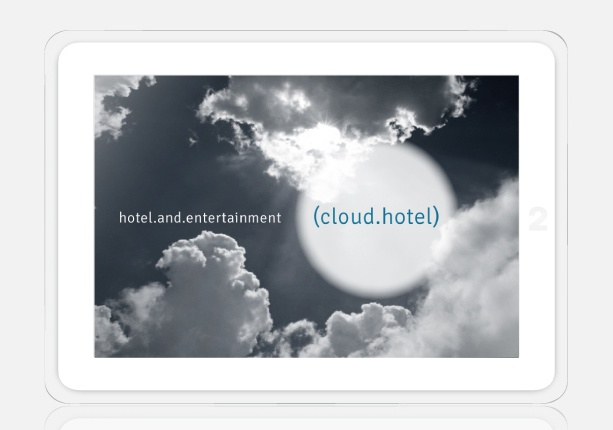 logo for a hotel complex
