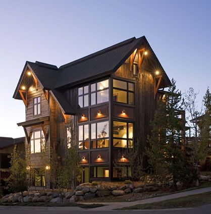 Unique House Plans Designs, Mountain Floor Plans, Rustic Home Designs--very cool. Perfect for vacation home.