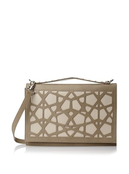 Bergè Women's Intreccio Large Convertible Clutch, Natural/Beige, http://www.myhabit.com/redirect/ref=qd_sw_dp_pi_li?url=http%3A%2F%2Fwww.myhabit.com%2Fdp%2FB00I969PW6 $275