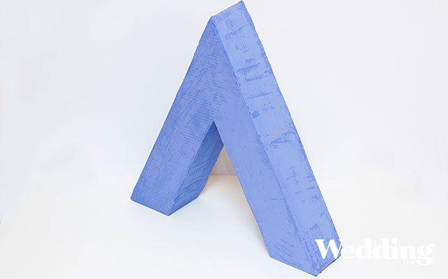 как сделать гигантские объёмные буквы