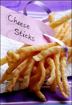 Cheese Sticks - Koleksi Resep Keluarga Nugraha - Australia
