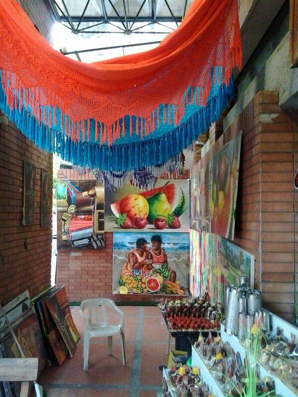 "Centro Artesanal ""Calle Grande"" Valledupar Colombia"