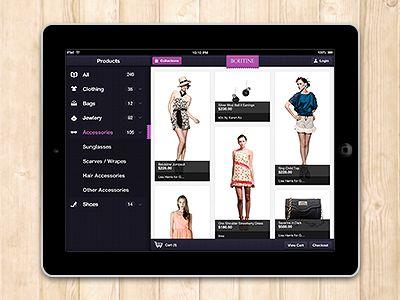 Boutine iPad App