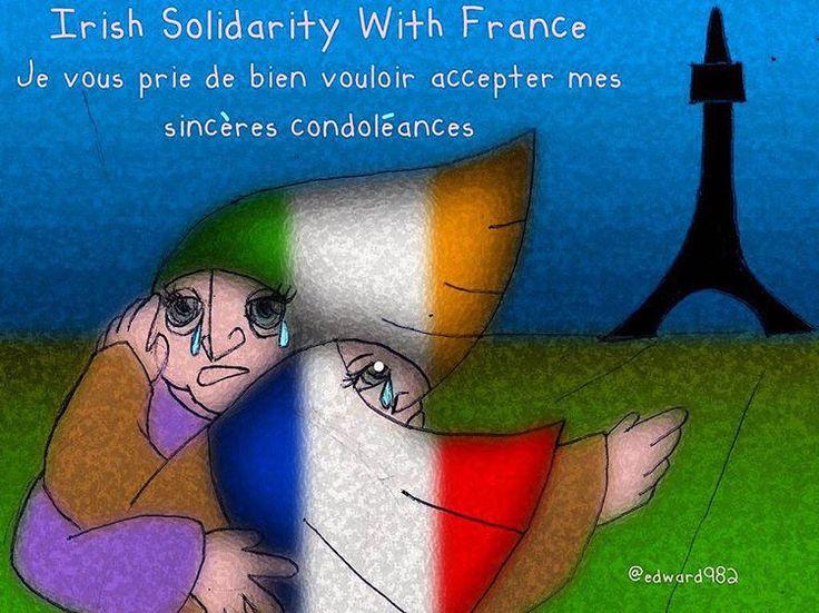 https://flic.kr/p/B225jQ | Solidarity with Paris. TAGS: #solidarity #paris #france
