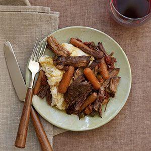 Slow-Cooker Chuck Roast | MyRecipes.com