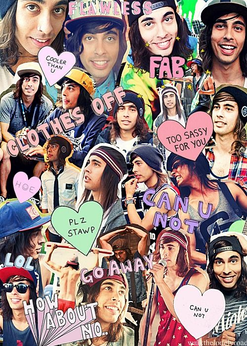 vic fuentes from peirce the veil!! -Lily