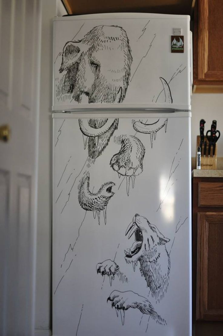 Что можно нарисовать на шкафу картинки