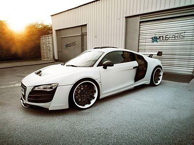 Famous Parts Audi White Phoenix