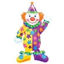 Clown 4ft Airwalker Party Supplies Canada - Open A Party