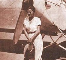 Latifa ElNadi aka Lotfia El Nadi (Arabic: لطفية النادي‎‎; October 29, 1907 – 2002) was an Egyptian aviator. She was the first African woman as well as the first Arab woman to earn a pilot's license