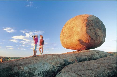 Discover the amazing rock formations and waterfalls of the NT