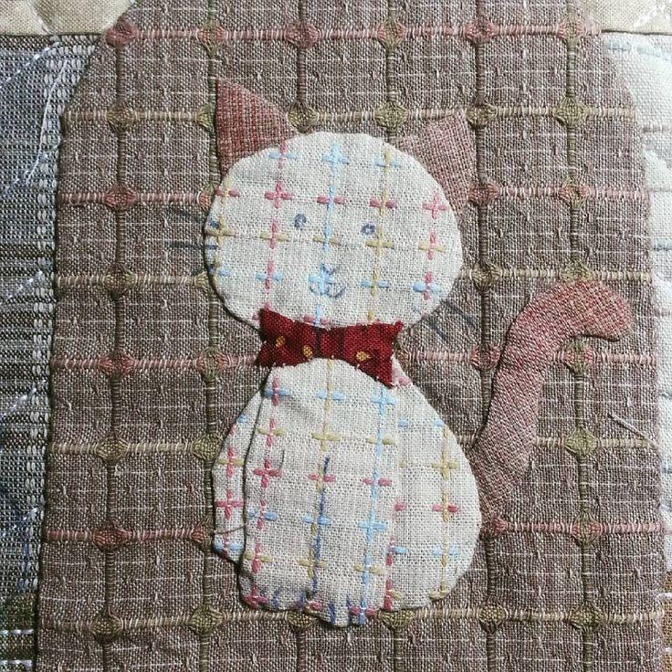 """31 Likes, 5 Comments - Bimbi Kusuma (@bimbikusuma) on Instagram: """"Cat no 4  . . . #alhamdulillah  #bismillah  #semangat  #sewing  #menjahit  #wip  #letsquilt…"""""""