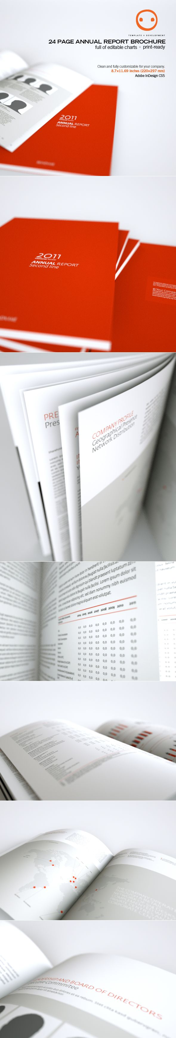 Annual Report Brochure - Brochures on Creattica: Your source for design inspiration
