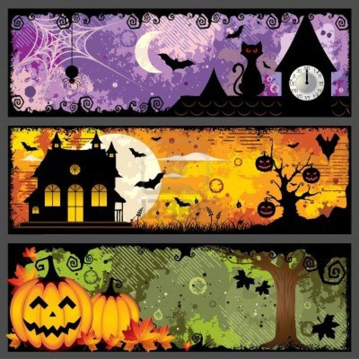 Halloween Banner Inspiration! It's Halloween Party time!!
