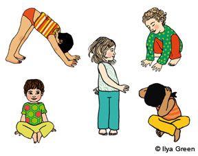 Relaxation : cinq exercices d'initiation au yoga pour les enfants à télécharger