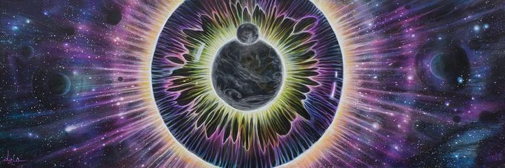 """""""EYECLIPSE""""  Canvas Prints Only"""