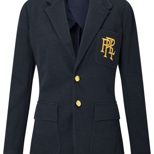 Polo Ralph Lauren Knit Cotton Blazer Blazer Cotton Blazer Retail Fashion