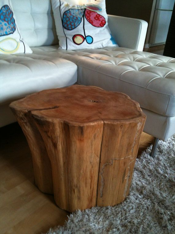 best 20+ tree stump side table ideas on pinterest | tree stump
