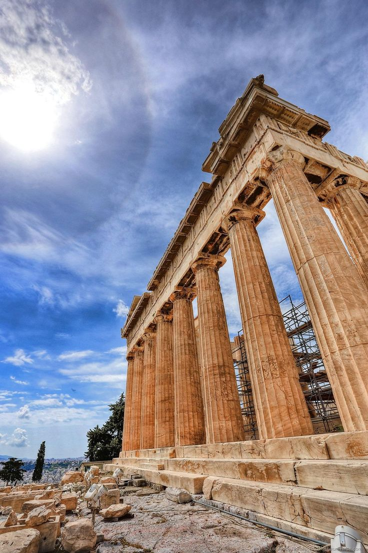 Things to do in Athens - acropolis side on, from findingtheuniverse.com