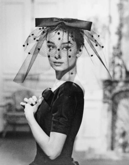 Audrey Hepburn photographed by Zinn Arthur for Love in the Afternoon, Paris, France,1956. From the upcoming Christie's auction.