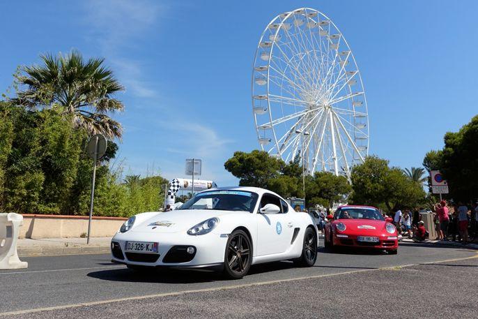Porscher på tur