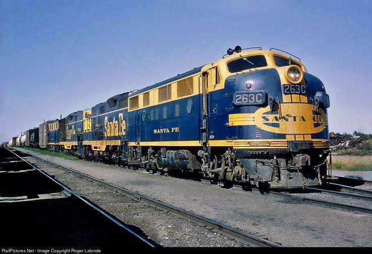 Santa Fe Tow >> RailPictures.Net Photo: ATSF 263C Atchison, Topeka & Santa ...