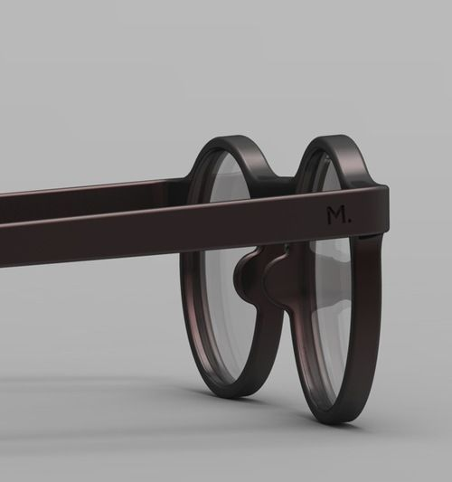 maxence couthier : 3d Printed Binocle