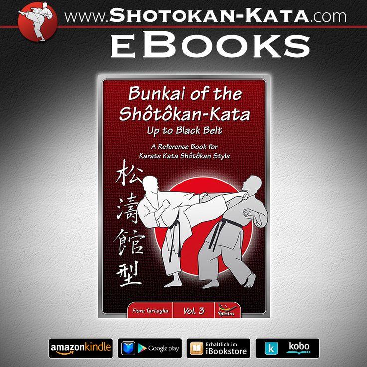 eBooks der Shôtôkan-Kata und dessen Bunkai in fünf Sprachen (deutsch, englisch, spanisch, französisch, italienisch)