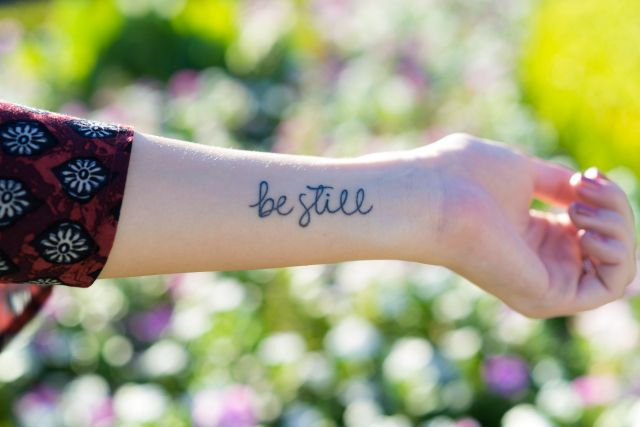be still tattoo