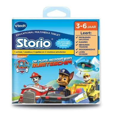 VTech Storio Game PAW Patrol  Duik in de wereld van de PAW Patrol en wees de held in dit leuke Storio game van VTech!  EUR 24.99  Meer informatie