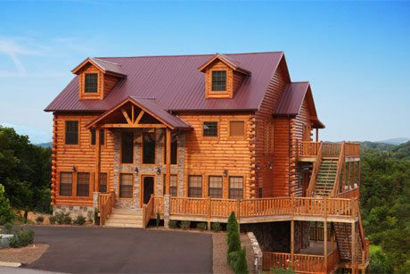 cabin rental in pigeon forge tennessee cabins pinterest