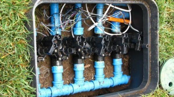 Diseño y construccion de riego automatico
