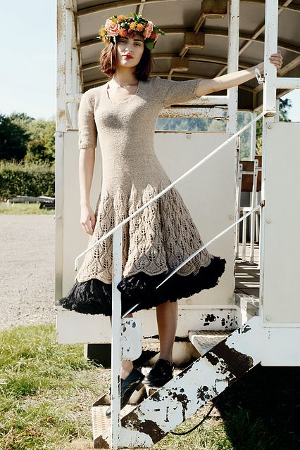 Ravelry: Maddie Dress pattern by Kari-Helene Rane