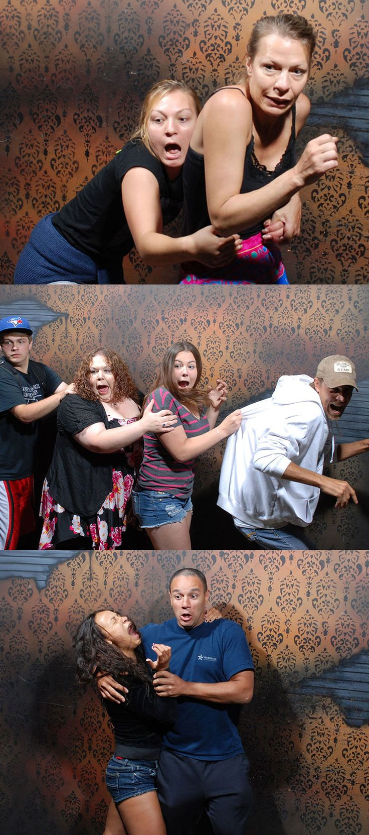 50 hilariously ridiculous haunted house reactions - Visit Our Fear Factory And You Will Get Your Very Own Hilarious Embarrassing Fear Pics