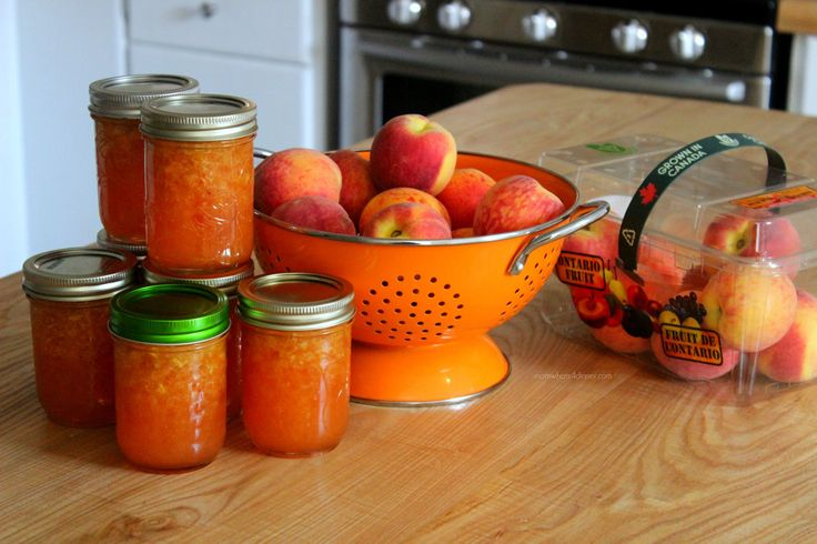 Best 25 peach freezer jam ideas on pinterest peach for Peach preserves no pectin