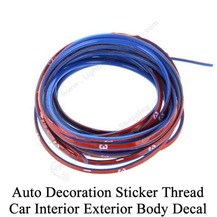 LightingShopping Co.,Ltd >>>#Cool #Auto #Decoration #Sticker #Thread, 5M, Blue, Body Modify Decal, Click to view: http://www.lightingshopping.com/auto-decoration-sticker-k937bl.html