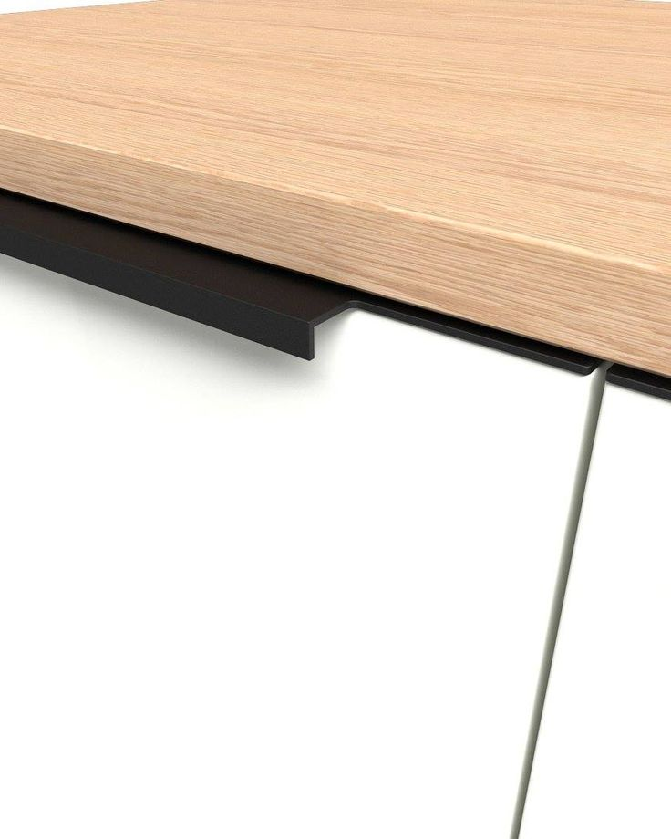 Milled Handles Glued U-11 M C-35 A U-11 M handle is suited to the shape of the doors and drawers of the kitchen. Modern line and high quality are the main characteristics. During the whole process of planning the whole series, maximum attention was given to the finishing details so that it has a direct influence on the aesthetics of the furniture. Available in many anodized colors and many finishings for the edges.