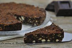 torta fredda biscotti e cioccolato | la cucina di rosalba