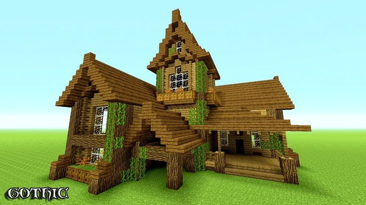 MINECRAFT: How To build A survival House | Best survival House 2016 -201...