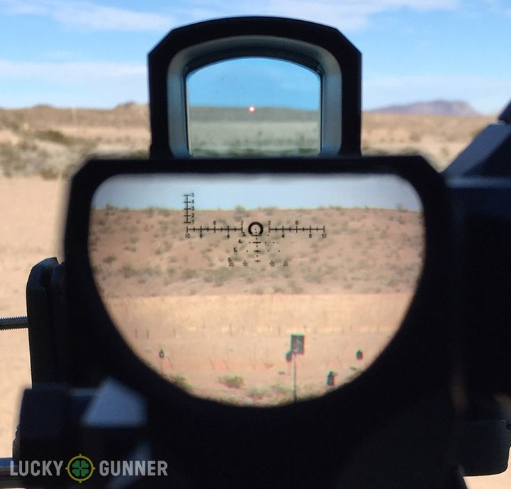 Looking through the Leupold D-EVO