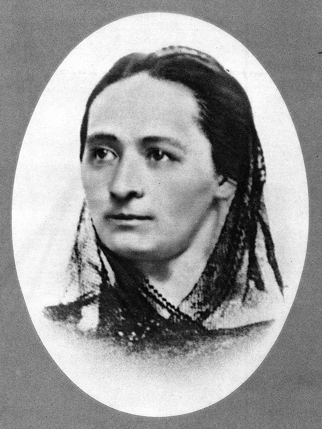 Božena Němcová cca 1854