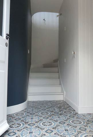 107 best hall images on Pinterest Stairs, Home ideas and Door entry - idee couleur couloir entree