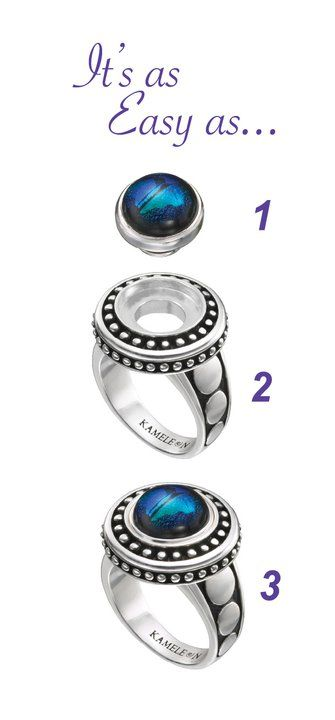 KAMELEON JEWELRY - easy as 1-2-3 available at Seasons by Design, New Holstein, WI