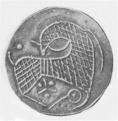 Horse Coin - 9th C Hedeby, Denmark