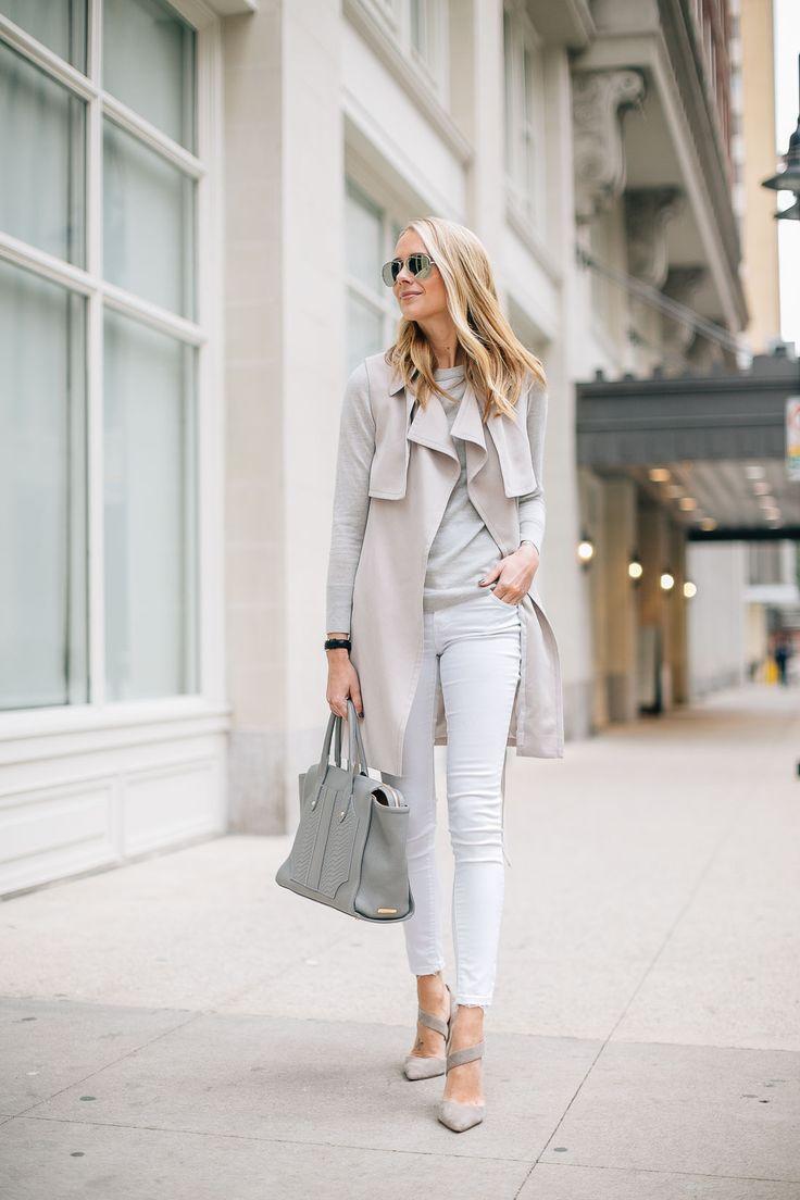 fashion-jackson-club-monaco-trench-vest-white-skinny-jeans-grey-sweater-grey-tote @clubmonaco @giginewyork