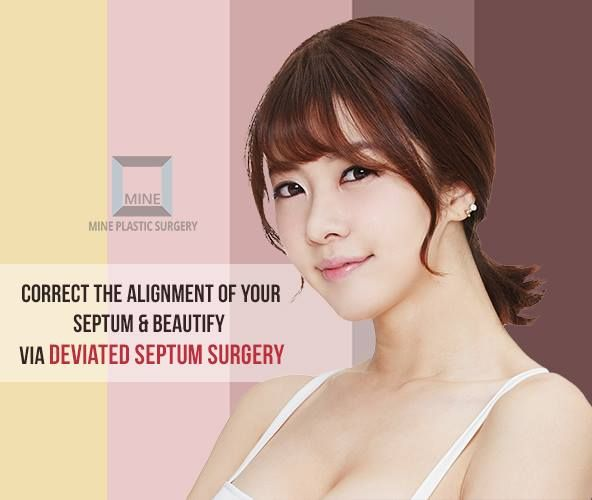 The goal of #Deviated_Septum_Surgery is to improve airflow through the nose & to fix the deviated nasal septum by doing the surgery through the nostrils & then by straightening the septum.  Know more: http://www.mineclinic.com/nose-surgery/soft-hump-or-deviated-septum-surgery/