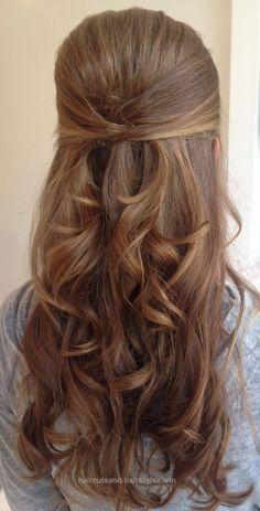 Best Of Cute Frisuren für lange Haare lockig