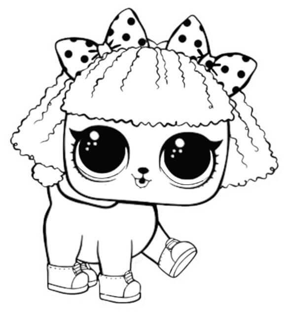 Lol Haustiere Malvorlagen Zum Ausdrucken Pupsta Lol Lol Puppen