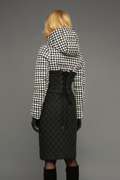 Пуховик женский Naumi WF15 057 черный гус