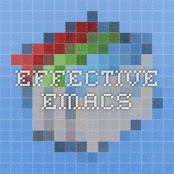 effective-emacs